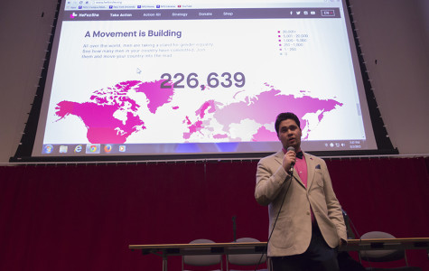 HeForShe promotes gender  equality