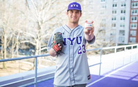 Pitcher balances baseball, business