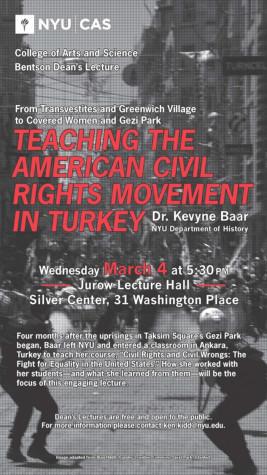 Professor discusses Turkish civil rights