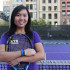 Woman Tennis player Carmen Lai was a two-year member of the tennis team at the University of Delaware before attending NYU.