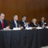 Left to right: Andreas Kraemer, Chris King, Michael Mehling, Eleanor Stein and moderator Justin Gillis.