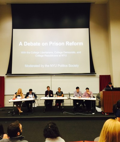 Students debate prison reform, criminal justice policies