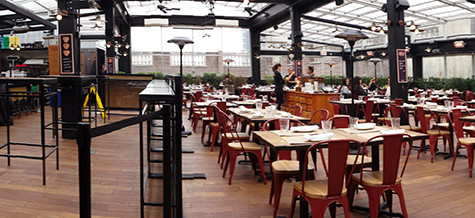 Enjoy weather with rooftop dining