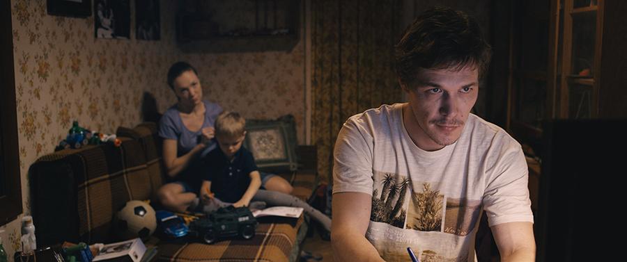 Artyom Bystrov (Dima Nikitin) in The Fool (2014). Image courtesy of Olive Films.