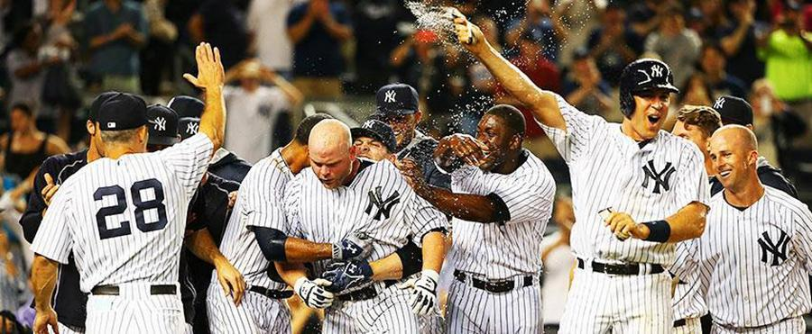 The New York Yankees will be playing the Blue Jays.