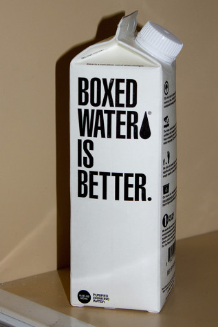 Hayden goes green with new water cartons