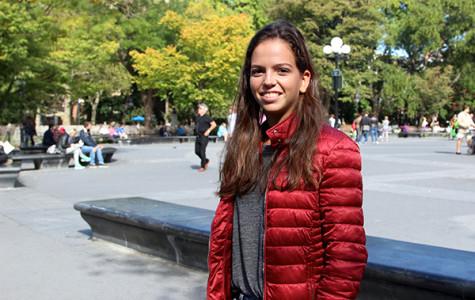 Globetrotting freshman hits NYU tennis courts