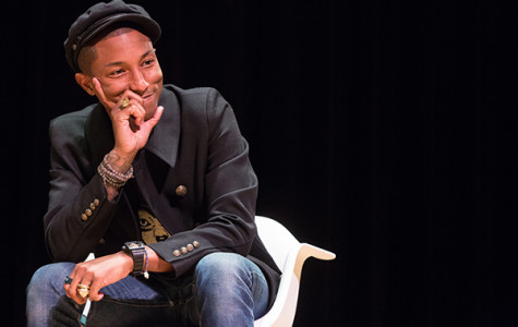 Pharrell Williams is elusive campus icon
