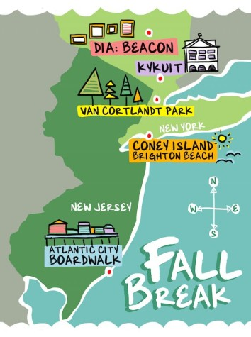 Make most of fall break in NYC