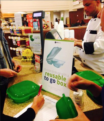 Eco-friendly to-go option off to a slow start in dining halls