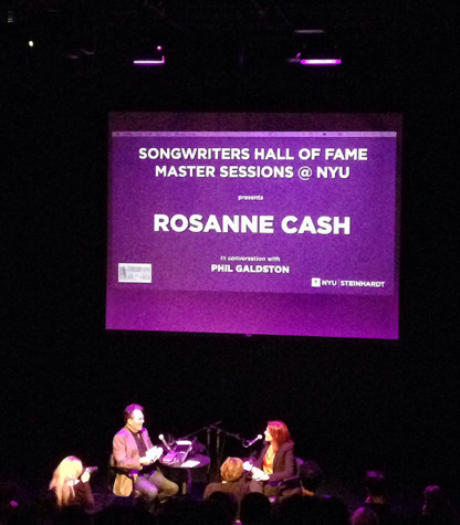 Rosanne Cash talks songwriting
