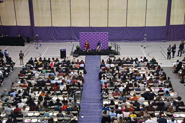 The diversity conversation was sparked in a big way last fall with a Diversity and Inclusion Forum in Coles.