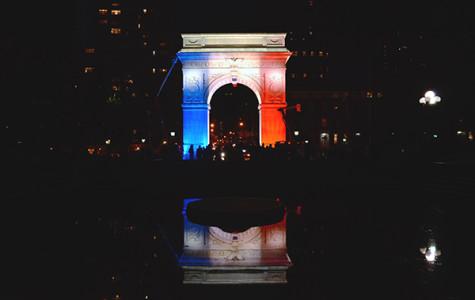 NYU shows solidarity with Paris after Friday attacks