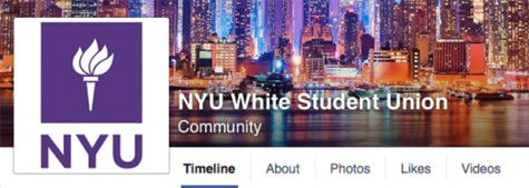 [UPDATE] NYU White Student Union page spurs outrage