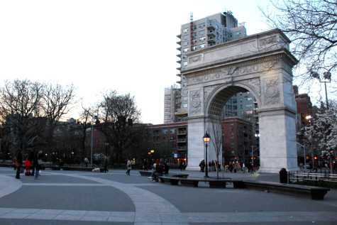 Go inside the Washington Square Arch without leaving your home