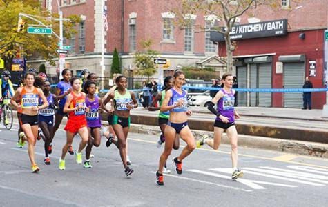 Marathon runners take NYC