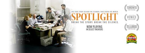Film shines 'Spotlight' on Church expose