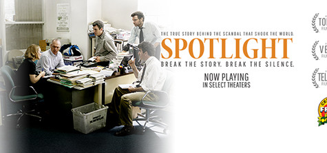 Film shines 'Spotlight' on Church expose