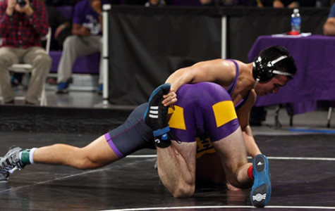 Wrestling team starts season with strong lead