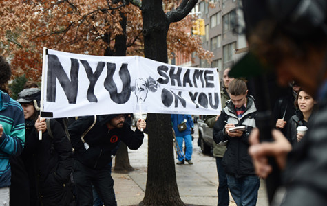 [UPDATE] Walk of Shame criticizes NYU for graduate worker contract violations