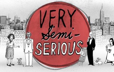 Doc makes cartoons 'Very Semi-Serious'