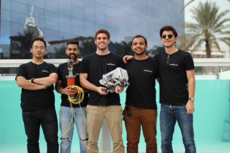 Students Create Drone for Marine Mapping