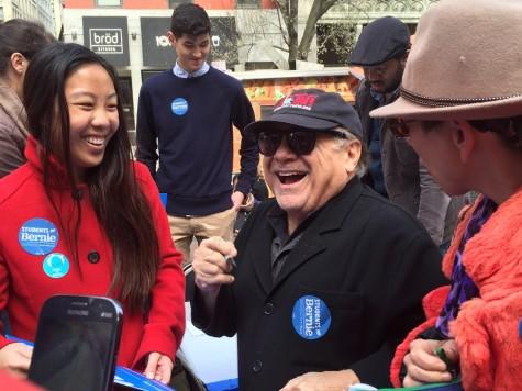 Danny DeVito Comes to NYU, Has Students Feeling the Bern