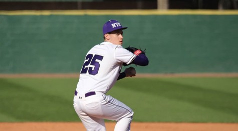 Baseball Swept on Road, Pitching Falters