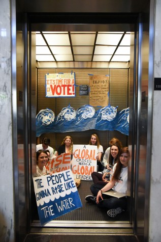 BREAKING: NYU Divest Occupies Bobst Library