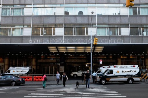 Fire Erupts at NYU Langone Medical Center, No Injuries Reported