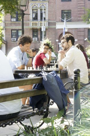 Chess Club Draws Social Players