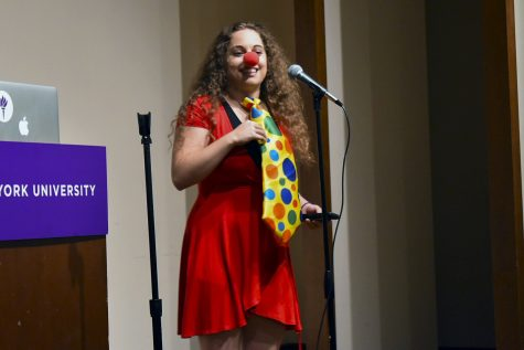 NYU Class Clowns Usher in the New Year with a Laugh