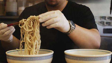 CAS Senior Adds Twist to Noodle Bar