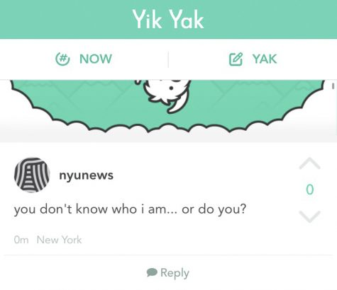 Yik Yak Could Lose Anonymity