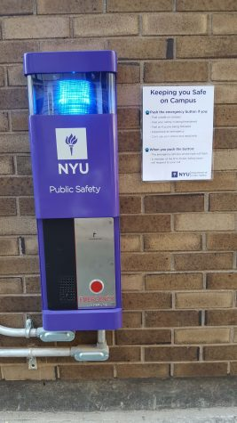 Blue Lights Aim to Improve Campus Safety