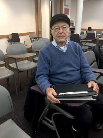 Meet the Man Taking Classes at NYU for 60 Years