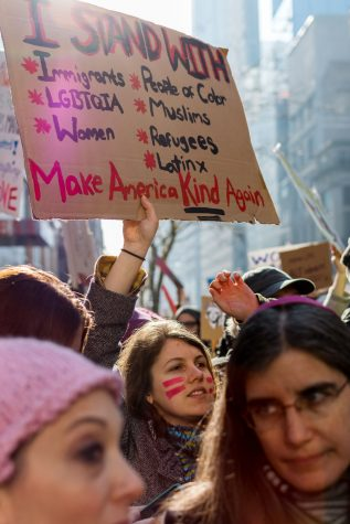 Women, Allies Take to the Streets