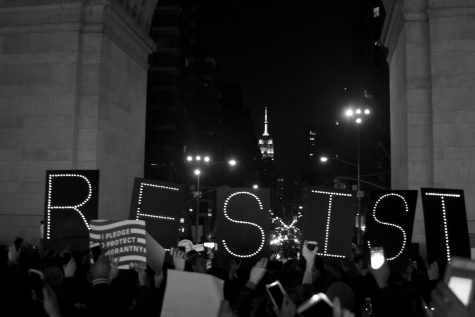 Exposure | Washington Square Park Rally For Immigrants' Rights