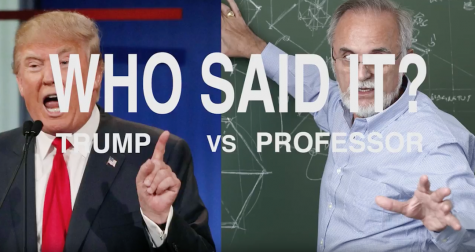 Who Said It: Trump vs. NYU Professors