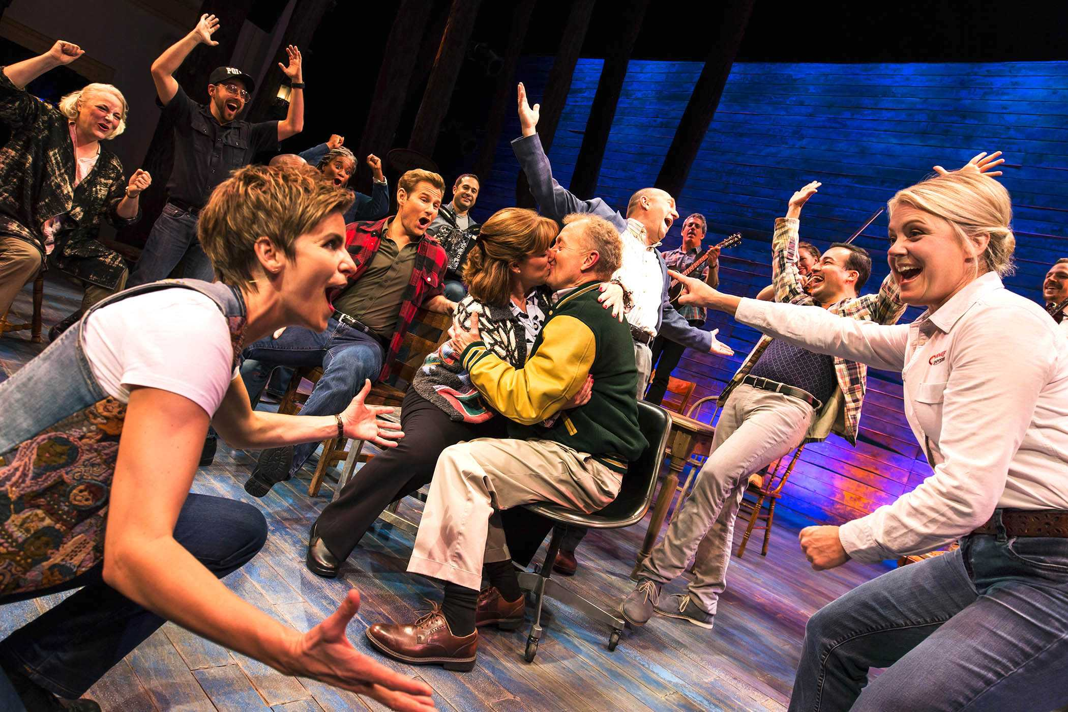 """Come From Away"" is directed by Christopher Ashley. The feel-good musical about 9/11 is currently open at the Gerald Schoenfeld Theatre."