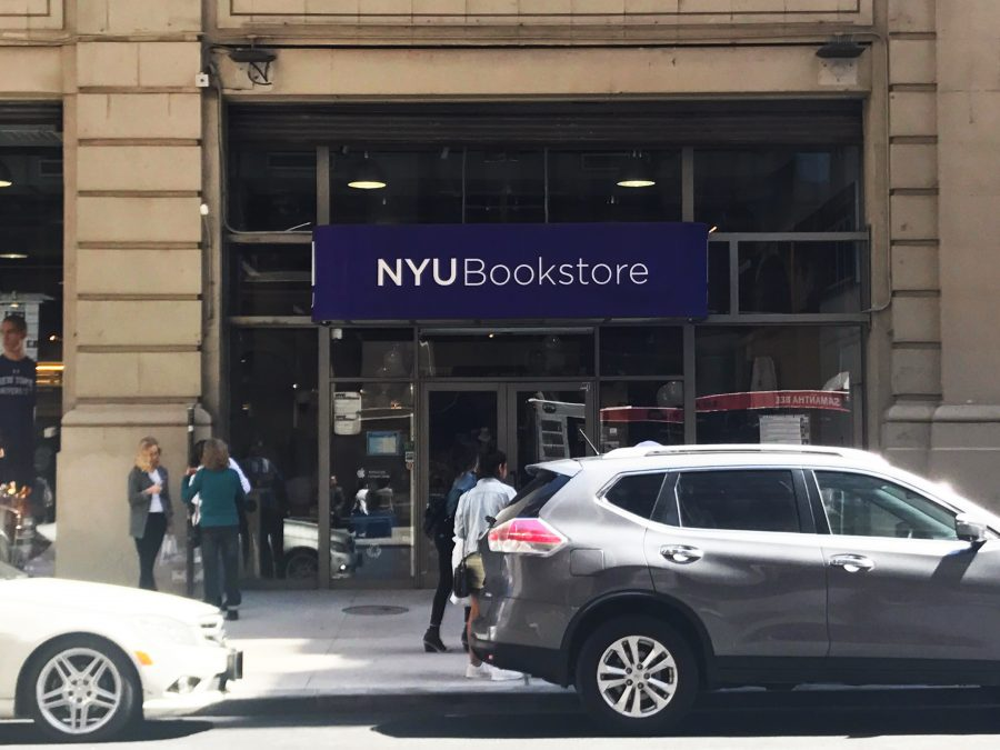 The+NYU+Bookstore+may+potentially+be+leased+to+Follett+Higher+Education+as+a+part+of+NYU%E2%80%99s+affordability+efforts.+However%2C+the+union%2C+UCATS+Local+3882%2C+is+concerned+with+the+takeover.