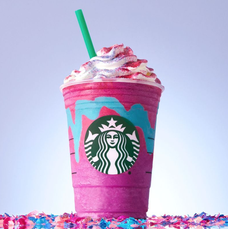 Starbucks' gimmicky new drink: 'As good as Unicorn or better'
