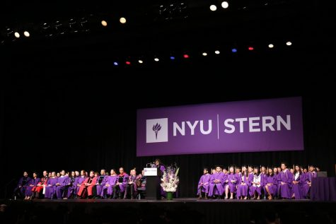 Leonard N. Stern School of Business Commencement '17