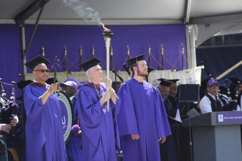 Graduates of 185th Commencement Stand for Honor in the Face of Challenge
