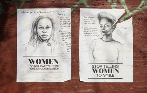 Artist plasters Brooklyn in anti-street harassment posters