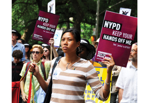 Stop-and-frisk challenge reaches court