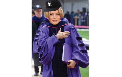 BREAKING: Jennifer Lawrence announced as commencement speaker for class of 2013