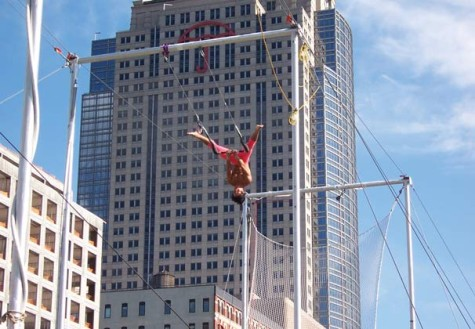 Fitness Finds: Trapeze training