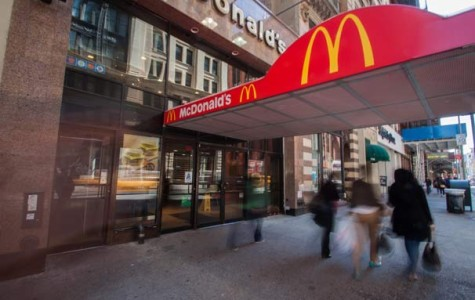 New York City fast food workers protest minimum wage