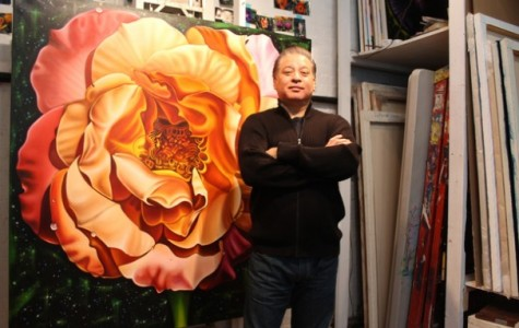 Gallatin professor stands out as a floral painter